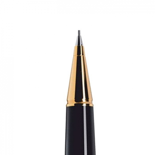 Cleo Classic Gold Black <p>Mechanical Pencil 0.7 mm <p>#24015<p/>