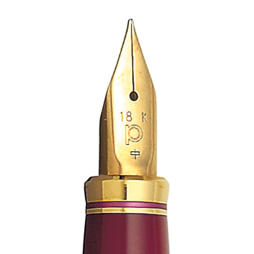 Platinum Vicoh Red Fountain Pen <p>with 18K Gold Nib<p>PTL-10000#70</p>