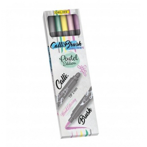 Online 5 Calligraphy <p>Brush Pens Set<p>#19079<p/>