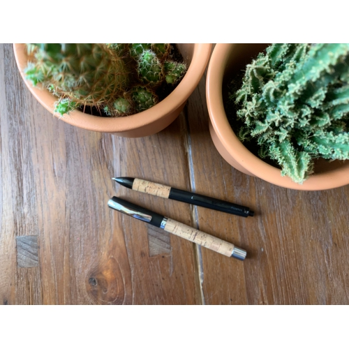 Online Calligraphy Set Vision Nature Cork <p>Fountain Pen incl. Ink Bottle<p>#36781<p/>