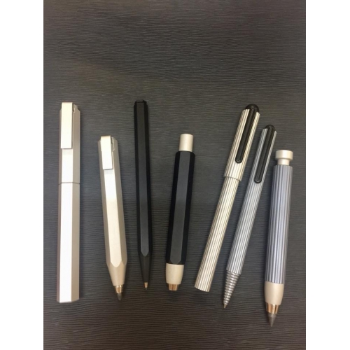 Worther Profil Ballpen <p>in Black Aluminum<p/><p>#66130<p/>